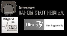 Logos Lifta, Erfolgsfaktor Familie, Daheim statt Heim